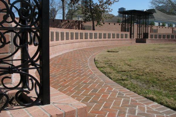 flat insert bronze columbarium