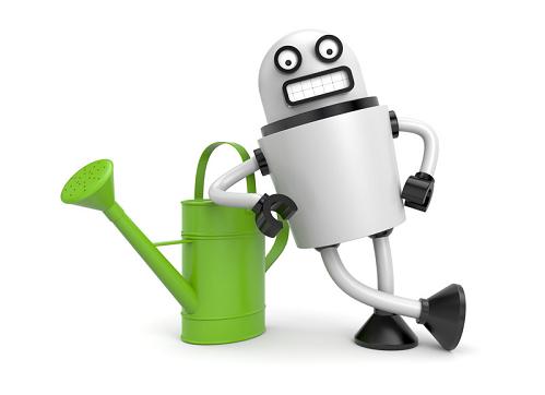 memorial garden robot